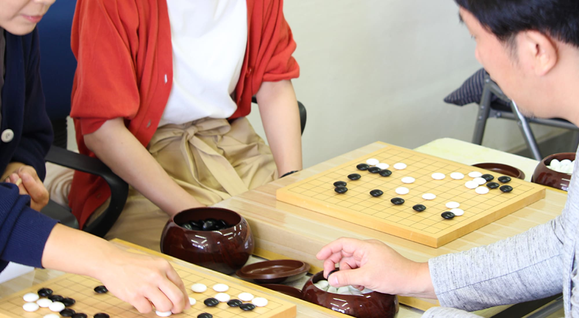 13路教室 薬円台囲碁クラブ