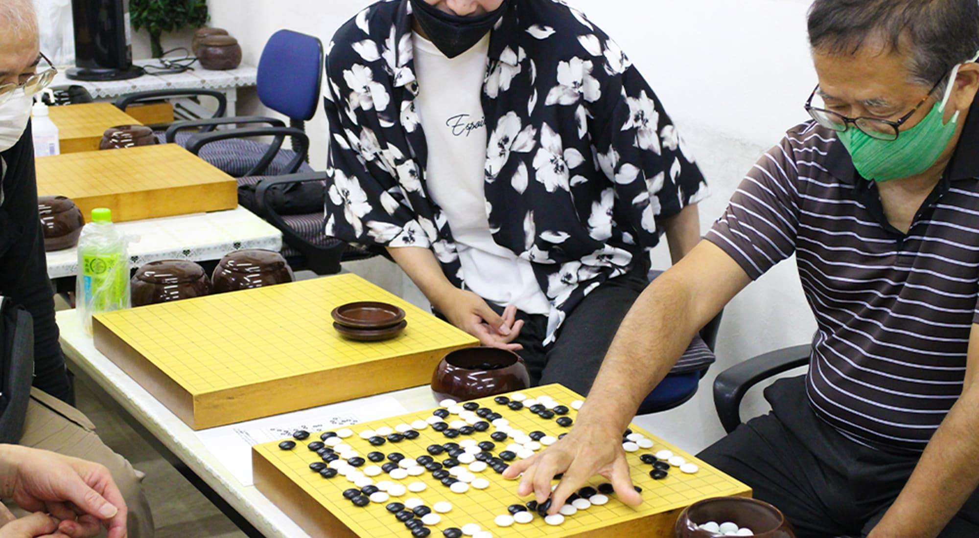 囲碁研究会 薬円台囲碁クラブ