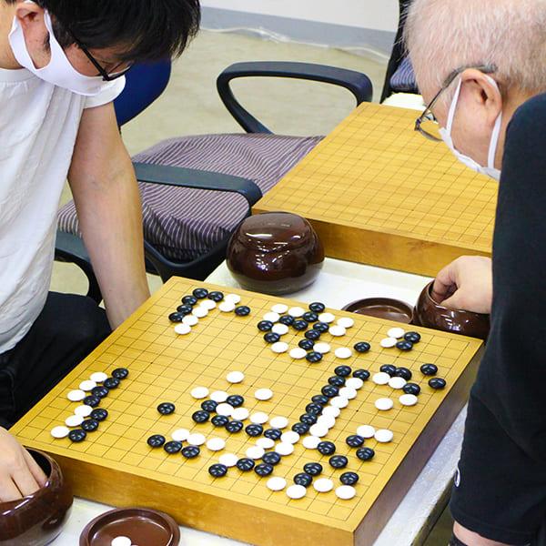 月例大会1 薬円台囲碁クラブ